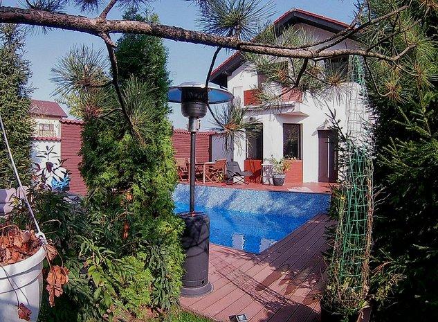 Vila individuala cu piscina zona Prelungirea Ghencea-Maracineni - imaginea 1