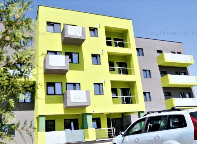 Apartament cu o camera, decomandat, 37.1mp+8.6mp balcon, loc de parcare inclus - imaginea 1