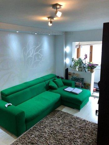 Apartament 3 camere decomandat, etaj intermediar - zona Dacia - imaginea 1