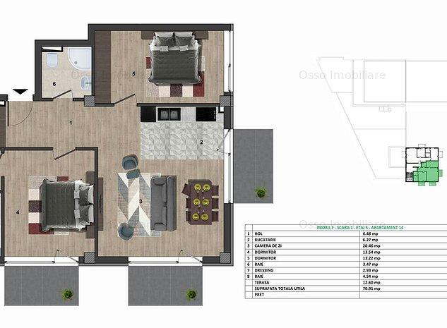 Vanzare| Comision 0%! Apartamente 2 si 3 camere| Ansamblu Modern! - imaginea 1
