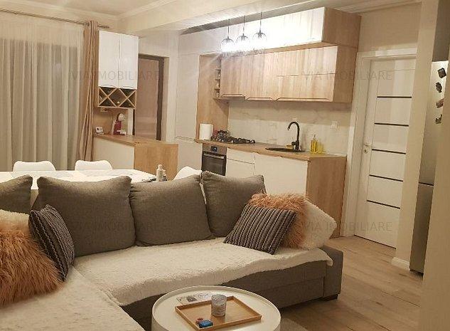 Apartament 3 camere, LUX 64 mp + 2 balcoane, BOXA, PARCARE - zona VIVO - imaginea 1