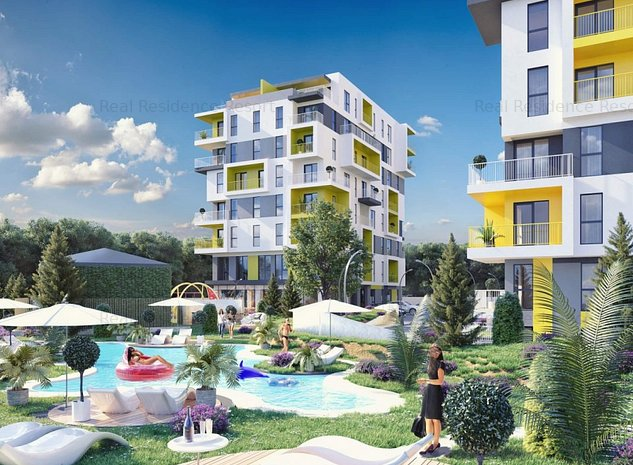 Apartament 3 camere, decomandat in cartier rezidential - imaginea 1