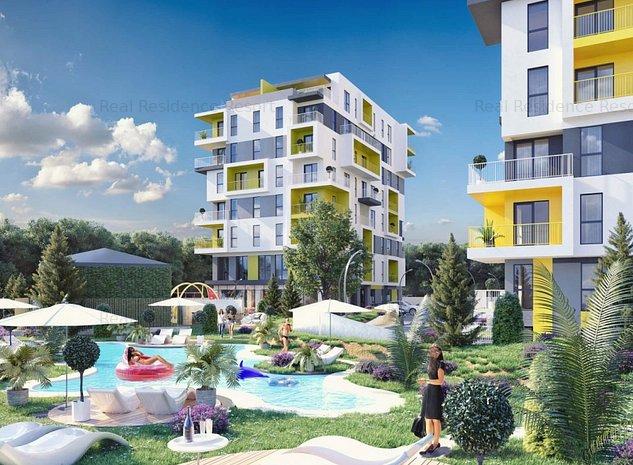 Apartament 3 camere decomandat in noul complex Real Residence - imaginea 1