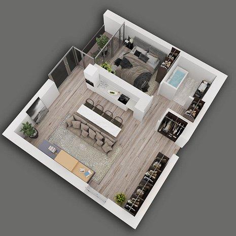 Apartament 2 camere Herastrau, Cartierul Francez prima rata de 30.000Euro - imaginea 1