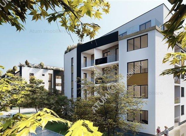 Apartament cu 2 camere de vanzare in Sibiu 51 mp utili etaj 1 - ID 208 - imaginea 1