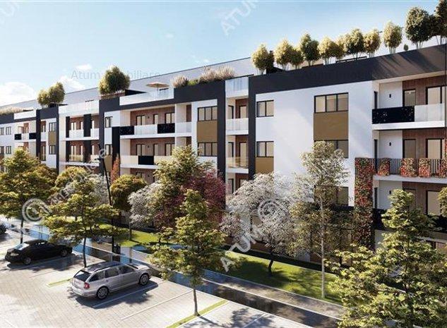 Apartament cu 2 camere decomandate de vanzare in Sibiu 52 mp utili etaj intermed - imaginea 1