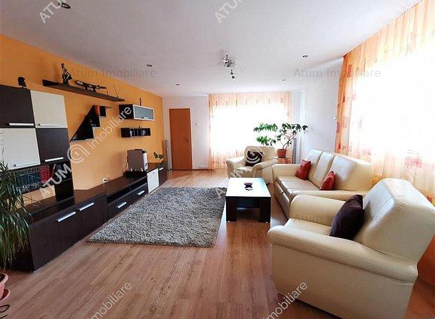 Casa cu 3 camere decomandate de inchiriat in Sibiu zona Tilisca - imaginea 1