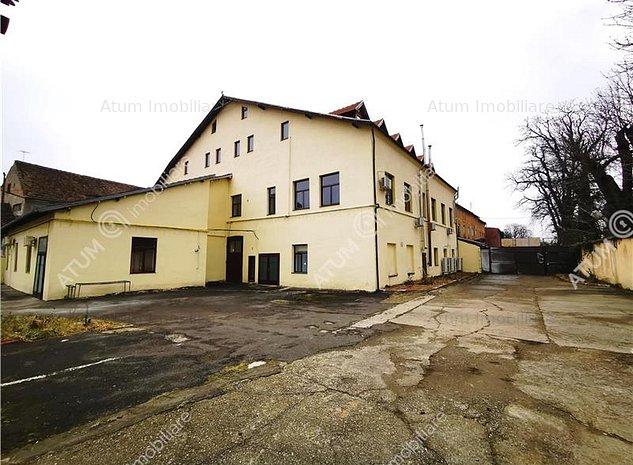 Cladire de birouri 1600 mp utili in zona Ultracentrala Sibiu - imaginea 1