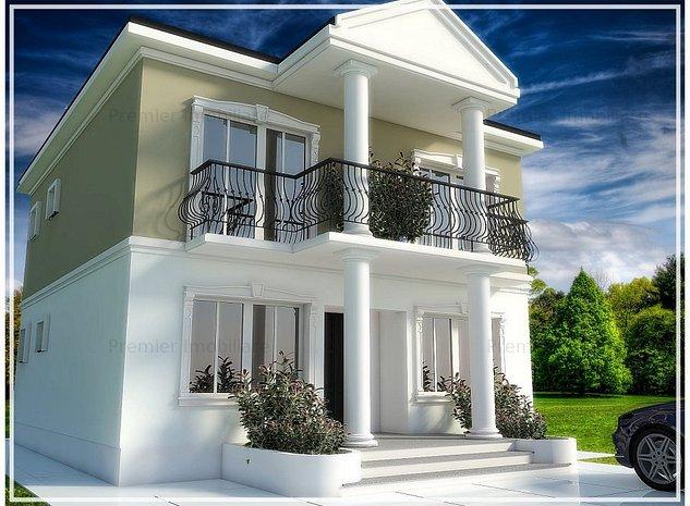 Vila individuala, proiect nou in comuna Berceni! - imaginea 1