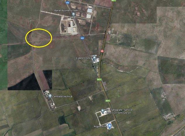 Teren de vanzare extravilan - Calea Aradului -  industrial - imaginea 1