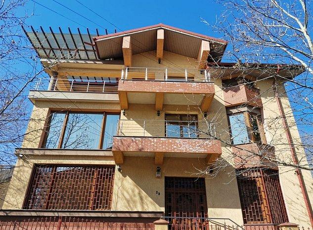 Casa Baneasa 7 camere plus garaj dublu - imaginea 1