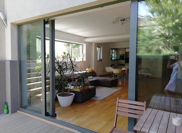 Baneasa   Apartament 4 Camere   Duplex   In Vila   Mobilat Lux - imaginea 1
