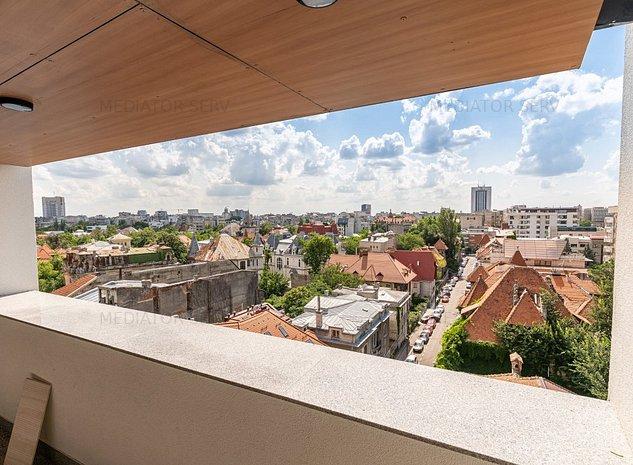 Apartament nou, 3 camere Dacia-Sheraton - vedere panoramica - imaginea 1