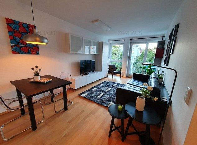 Apartament 2 Camere Cu Iesire In Balcon Din Bucatarie - imaginea 1