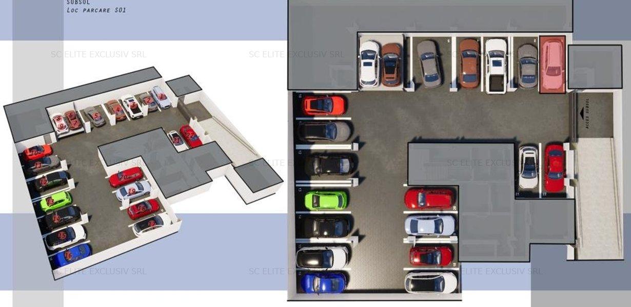 OFERTA DIRECT DEZVOLTATOR! INEL II  - 2 camere TIP 1 in  Eliberarii Residence - imaginea 10
