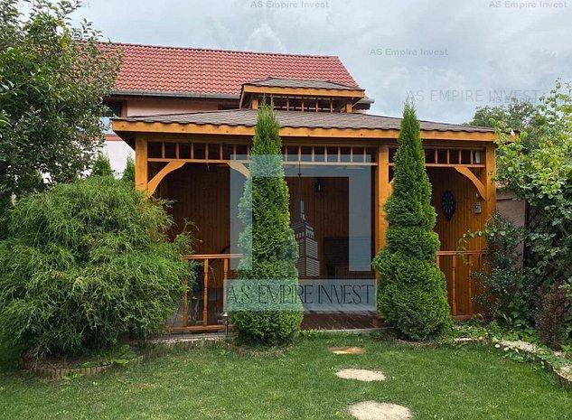 Casa/vila mobilata-utilata LUX - zona Ghimbav - imaginea 1