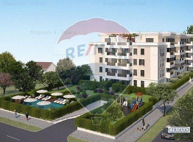Apartament cu 3 camere de vanzare in zona Pipera - Iancu Nicolae - imaginea 1