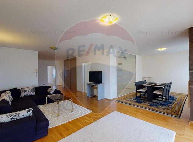 Apartament cu 3 camere de inchiriat in Ibiza Sol Residence, Pipera - imaginea 1
