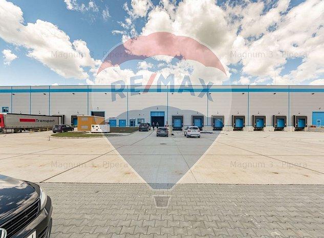 Inchiriere spatiu depozitare / logistica Bucuresti Vest - imaginea 1