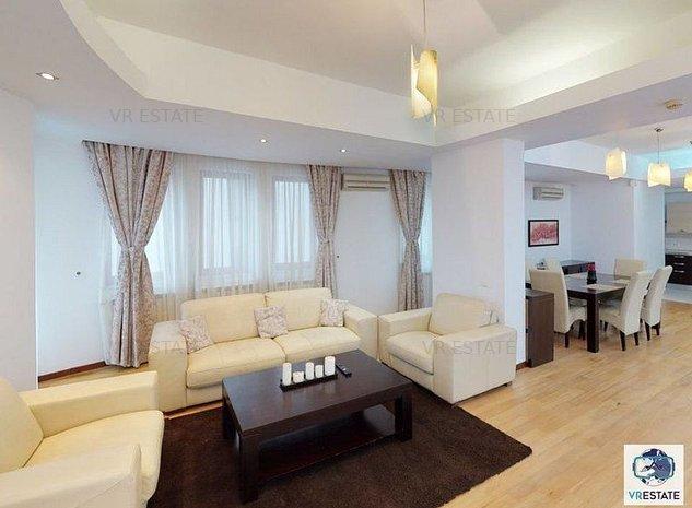 Chirie - Apartament 3 camere - Aviatorilor - Tur Virtual - imaginea 1