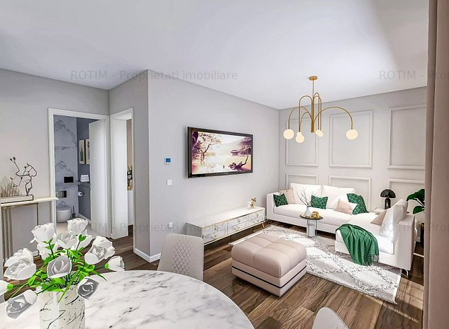 Q Apartments: 3 Camere 2 băi 73mp - imaginea 1