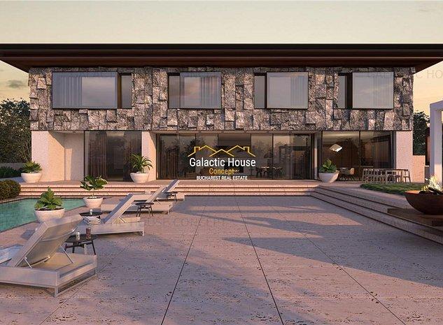 Vanzare Complex 4 Case -Snagov -Ghermanesti Residence - imaginea 1