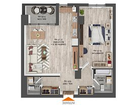 Apartament de vânzare 2 camere, în Braşov, zona Noua