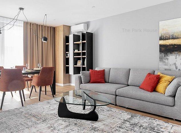 Apartament 3 camere finalizat, parcare subterana inclusa, tesase, The Parkhouse - imaginea 1
