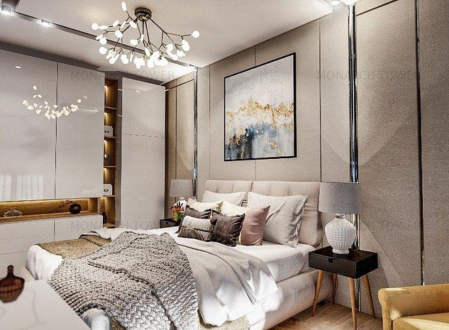 Apartament cu 2 camere - Monarch Tower, Bld.Take Ionescu - imaginea 1