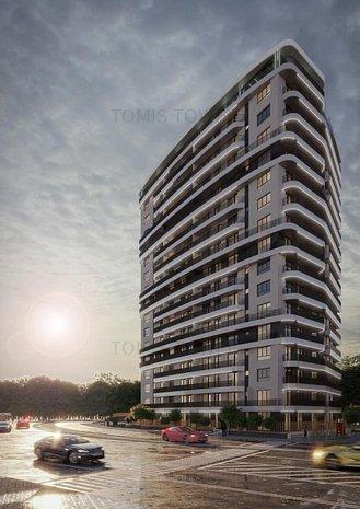 2 camere in bloc nou- Tomis Tower - imaginea 1