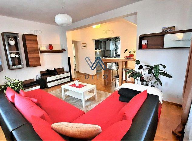 Casa, apartament la casa, dotari complete, curte - Subarini - imaginea 1