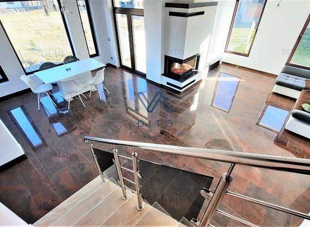 Casa single, amenajari complete, garaj, pivnita, curte mare - imaginea 1
