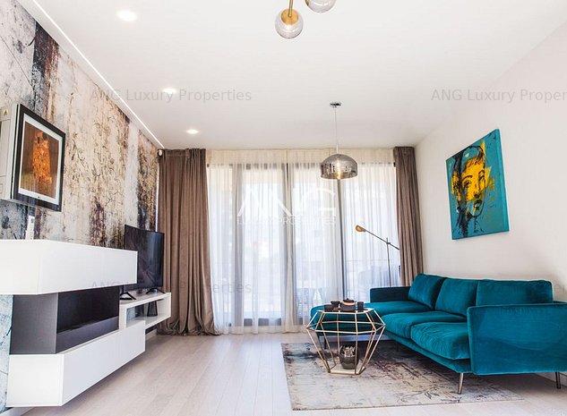 Apartament 2 camere - Vedere spre Parcul Herastrau *Bloc Finalizat - imaginea 1