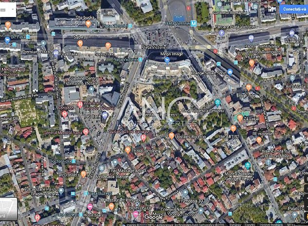 Teren 1020 mp de vanzare in zona Piata Victoriei - imaginea 1