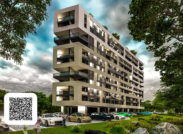 Apartament cu 2 camere decomandat bloc nou VENETIA RESIDENCE - imaginea 1