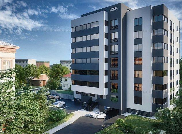 Apartament cu 1 camera, DIRECT DE LA DEZVOLTATOR, zona Centrala- Palas Mall - imaginea 1