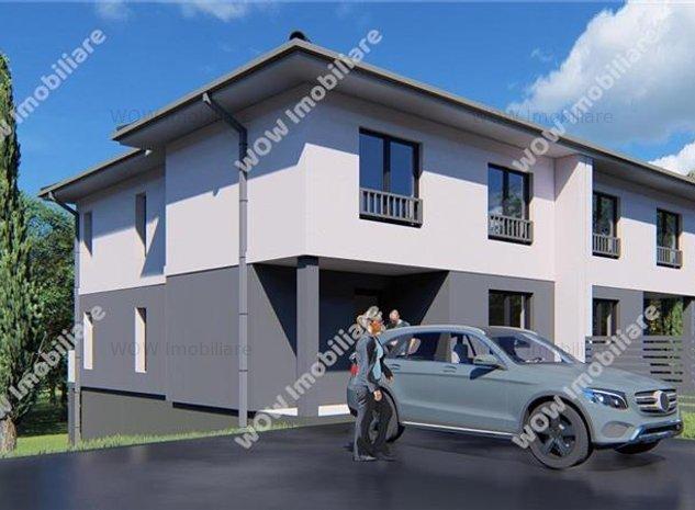 Casa cu 4 camere 33 mp pivnita si 315 mp teren Cartier Magura - imaginea 1