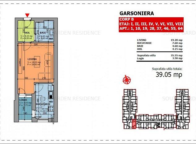 Odei Towers Garsoniera adiacent Brancoveanu - imaginea 1