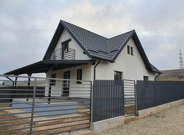 Casa la cheie Margineni P+M - 3 dormitoare - imaginea 1