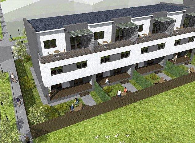 Vila tip Insiruita 4 camere, 157 mp, Bragadiru, finalizare 2021 - imaginea 1