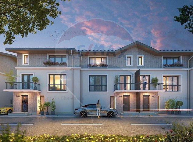 Casa / Vila cu 5 camere si curte de vanzare Pipera /Comision 0% - imaginea 1