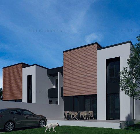 Vila 4 camere cu teren in proprietate – Ansamblu Rezidential - imaginea 1