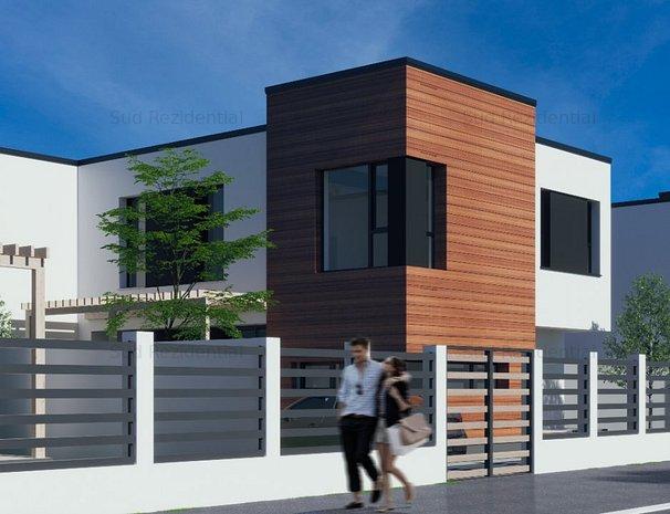 Vila Duplex - Intrare Comuna Berceni - Curte amenajata - imaginea 1