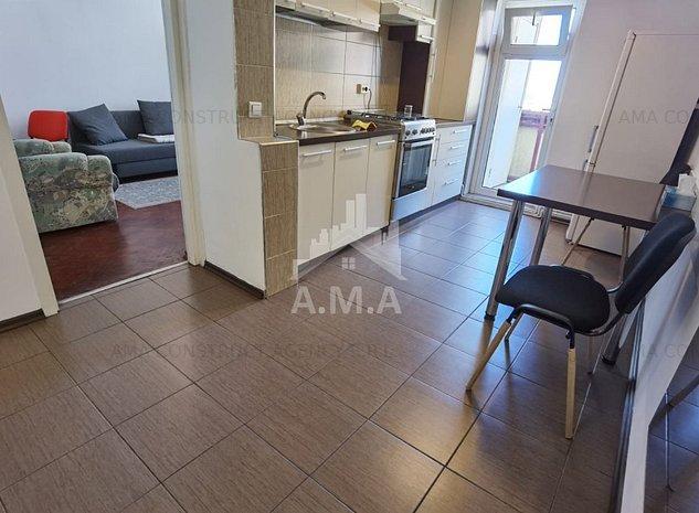 Apartament 2 camere ,decomadat ,Manastur zona Piata Flora - imaginea 1