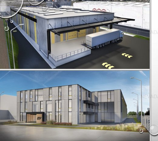 Teren de vanzare Aeroport Otopeni, langa TNT, proiect logistic - imaginea 1