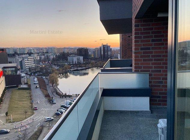 Apartament cu 1 cameră, modern, la prima închiriere, 37mp, zona Iulius Mall - imaginea 1