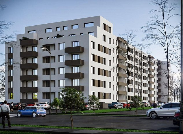 Apartament 2 camere, finalizat, Spaliul Unirii 265 - imaginea 1