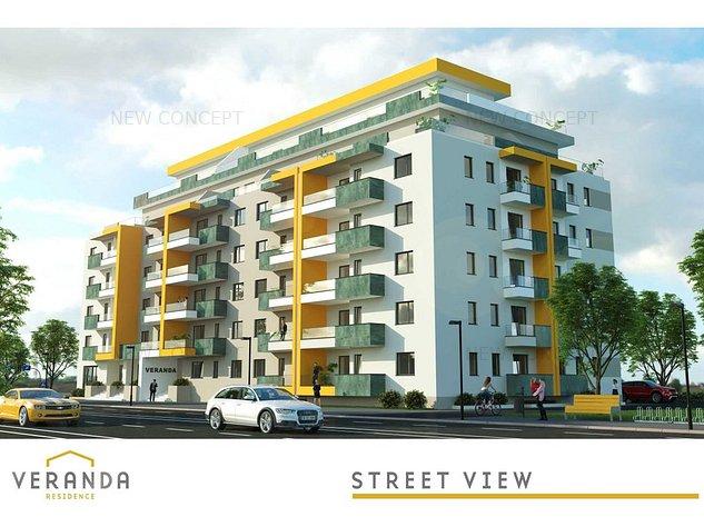 Apartament 3 camere   Zona Centrala   Ansamblu Rezidential - imaginea 1