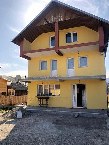 Vila si teren de 1300 mp - Goranu - imaginea 1