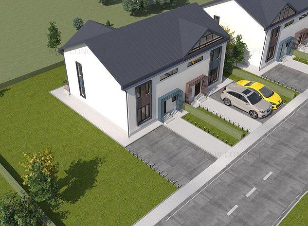 Ansamblu Rezidential de case - Bujoreni - imaginea 1